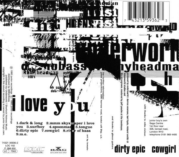 Vinyl Radio Underworld Mmm Skyscraper I Love You 1996