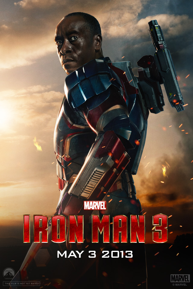 Iron Man 3 iPhone wallpaper 640x960 006