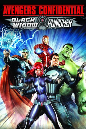 Poster Avengers Confidential: Black Widow & Punisher 2014