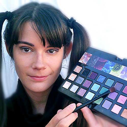 Monika sanchez guapa al instante sombras ojos