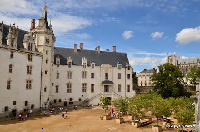 Nantes -le château des ducs de Bretagne