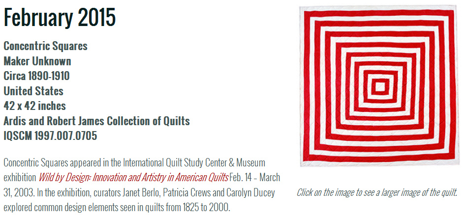 http://www.quiltstudy.org/collections/quilt_of_the_month/