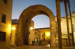 Arco romano de Trajano, en Mérida