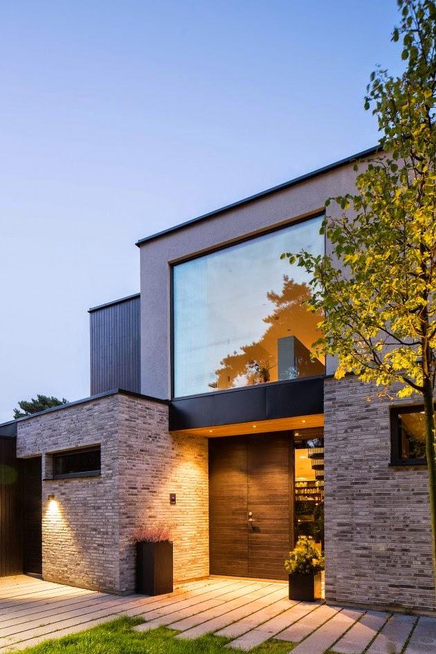 Casas minimalistas y modernas accesos minimalistas Architecture home facade