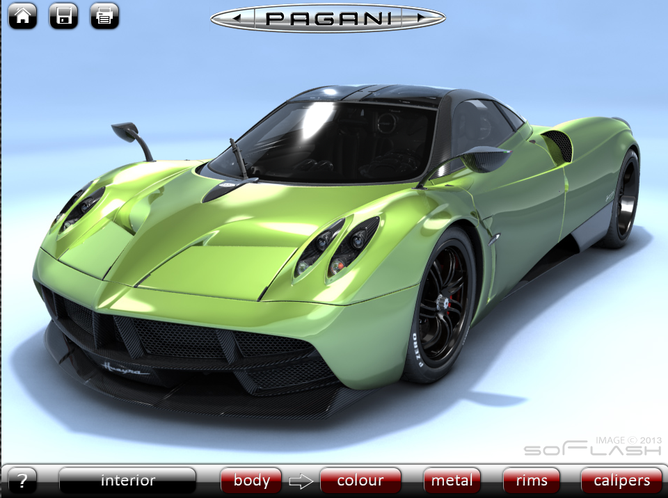 Marchettino - The ONLY official web Unofficial Pagani Huayra ...