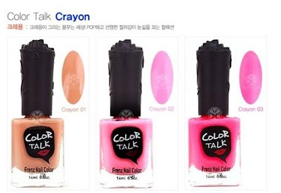 Frenznail Crayon Color