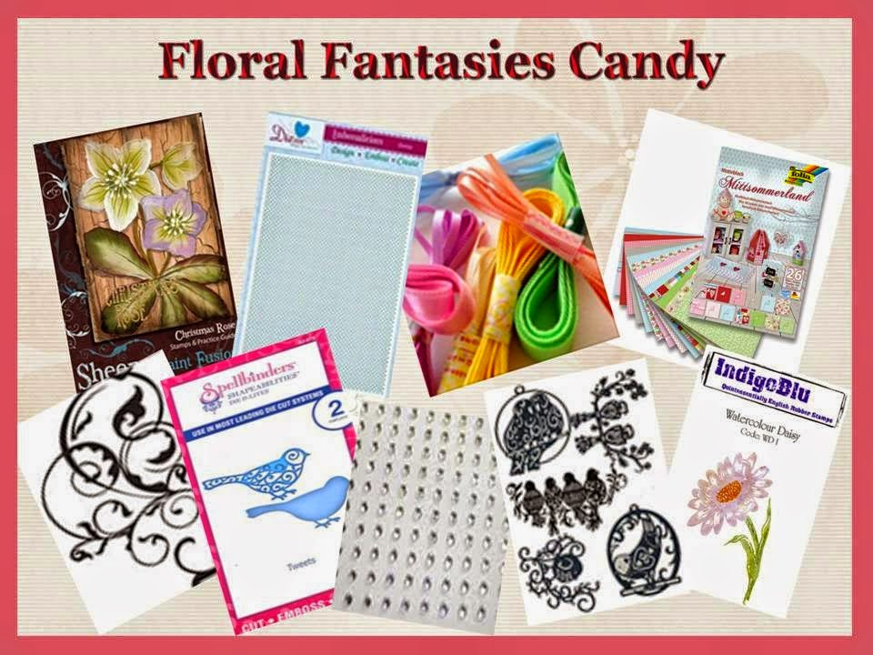 Floral Fantasy candy