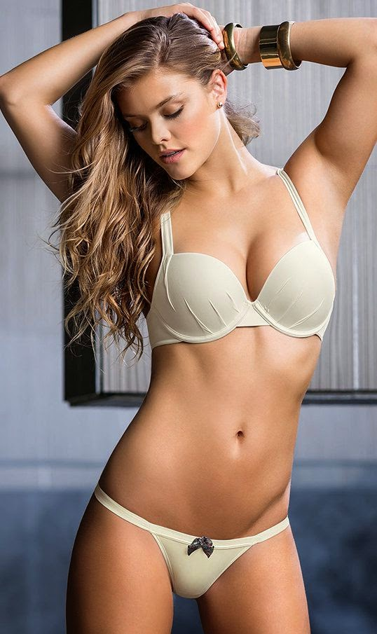 Leonisa Lingerie 2015 Lookbook featuring Nina Agdal