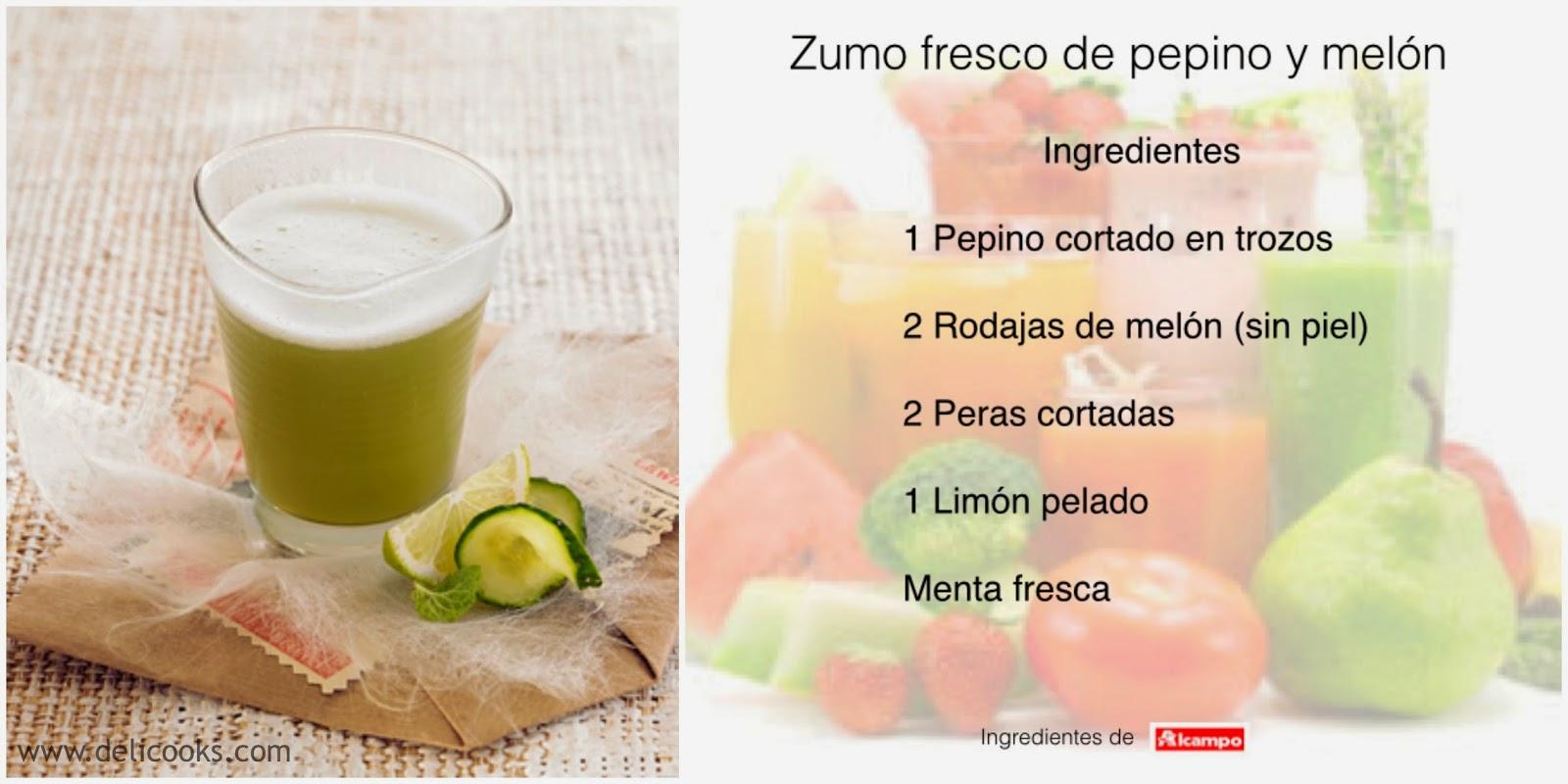 Zumos Pepino Limón