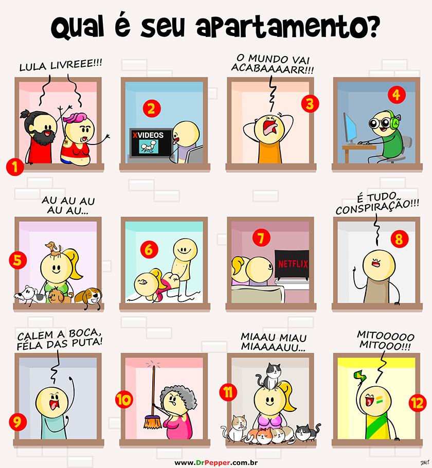 Qual é o seu apartamento?