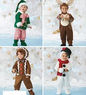 Fantasia Infantil de Natal