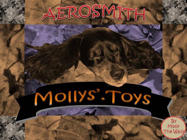 Pandoras Toys, Aerosmith album cover by Molly The Wally.