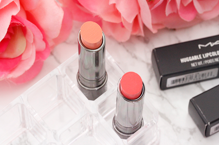 Pretty Spring Shades: MAC Huggable Lipcolour and Glass