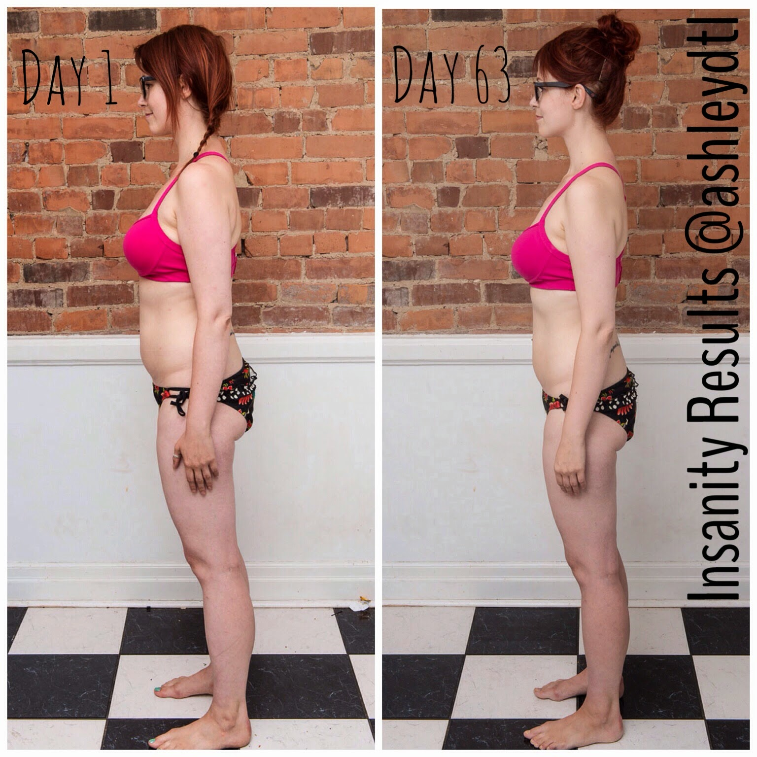 Insanity results Ashley Gibson