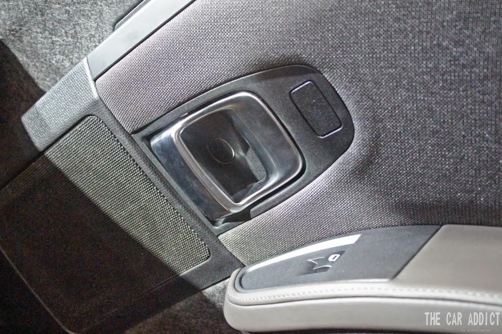 speaker and open the BMW i3 door