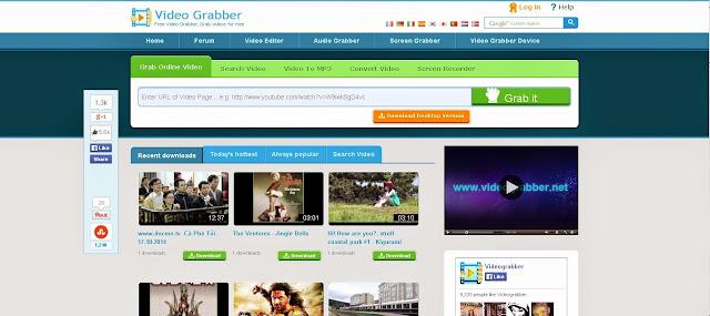 Situs Untuk Download Video Dari Youtube - videograbber