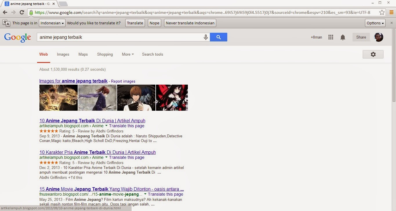 Membuat Pencarian Blog Menarik di Google