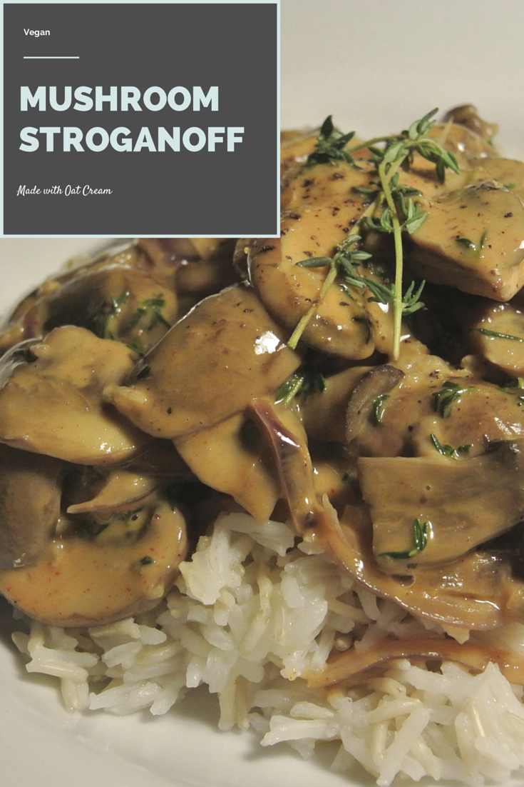 Little Pinch of Salt: Recipe: Vegan Mushroom Stroganoff