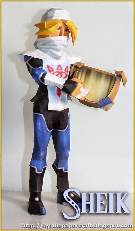 Sheik Paper Model