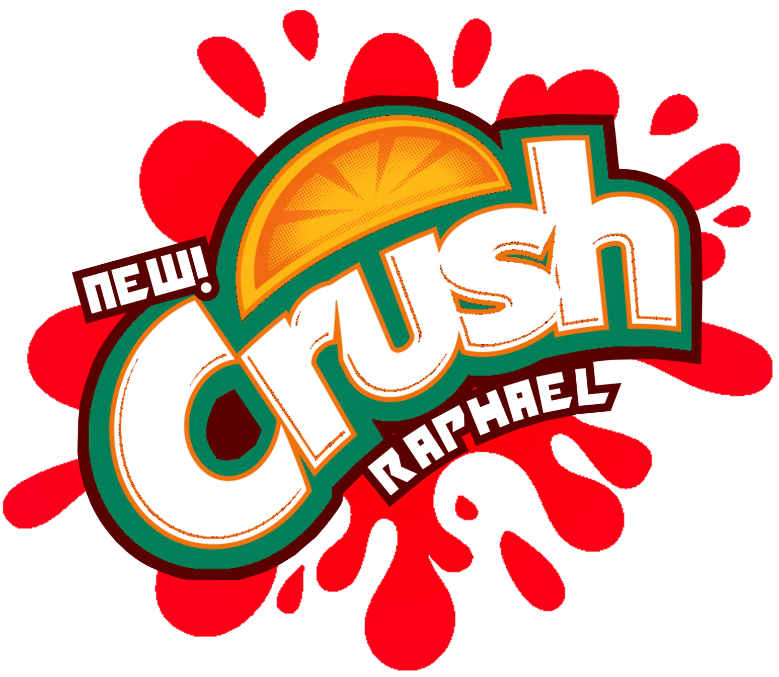 the holidaze tmnt crush raphael strawberry rh the holidaze blogspot com crush logo history crush logo font