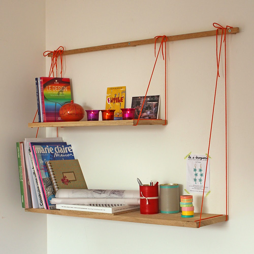 Bridge shelves