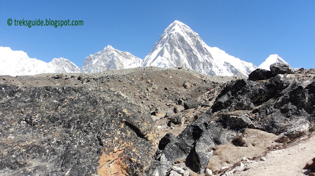 mt. Pumori, Everest base camp trekking