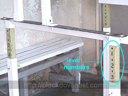 Homemade adjustable safety squat racks part 5 blackdove nest for Diy squat rack metal