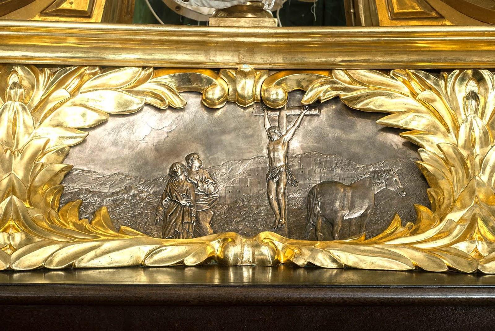 Trono Soledad Semana Santa Cartagena Murcia Arturo Serra escultura 5