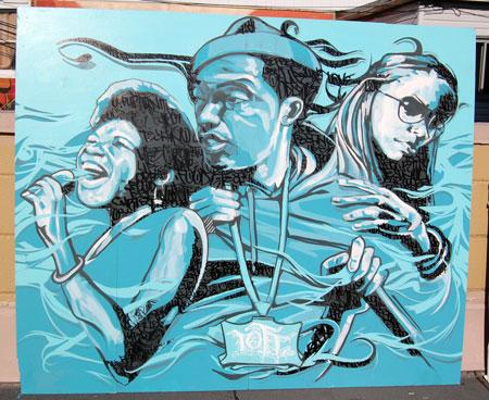 Hip Hop Graffiti Art