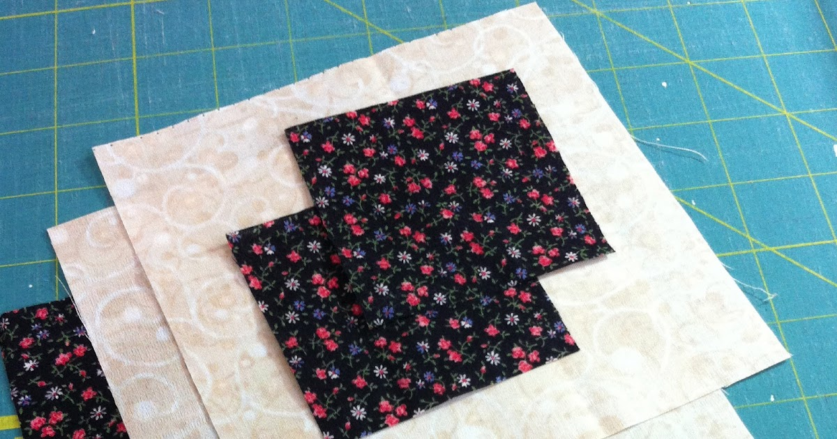 Magpie Quilts Easy Bow Tie Quilt Block Tutorial