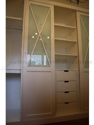 Jumar decoraci n armario empotrado con aspas for Muebles jumar