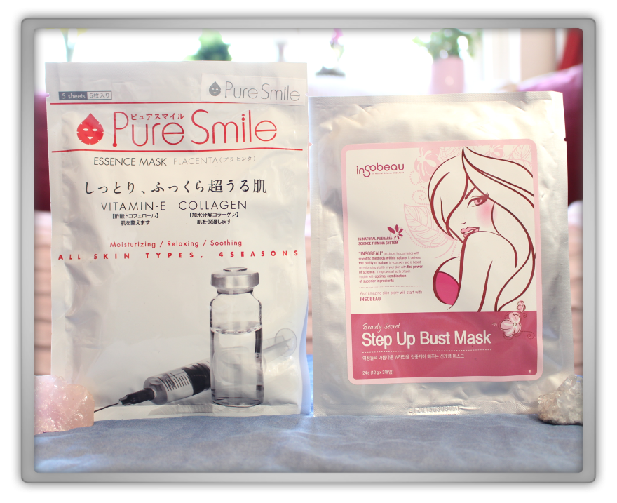 겟잇뷰티박스 by 미미박스 memebox beautybox Special #38 My Mask Box unboxing review Pure smile sheet insobeau beauty secret bust mask