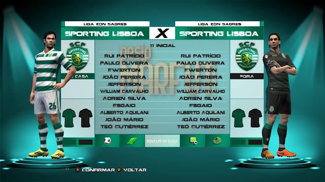 PES 2013 Liga NOS Kitspack 2015-16 by rodry92