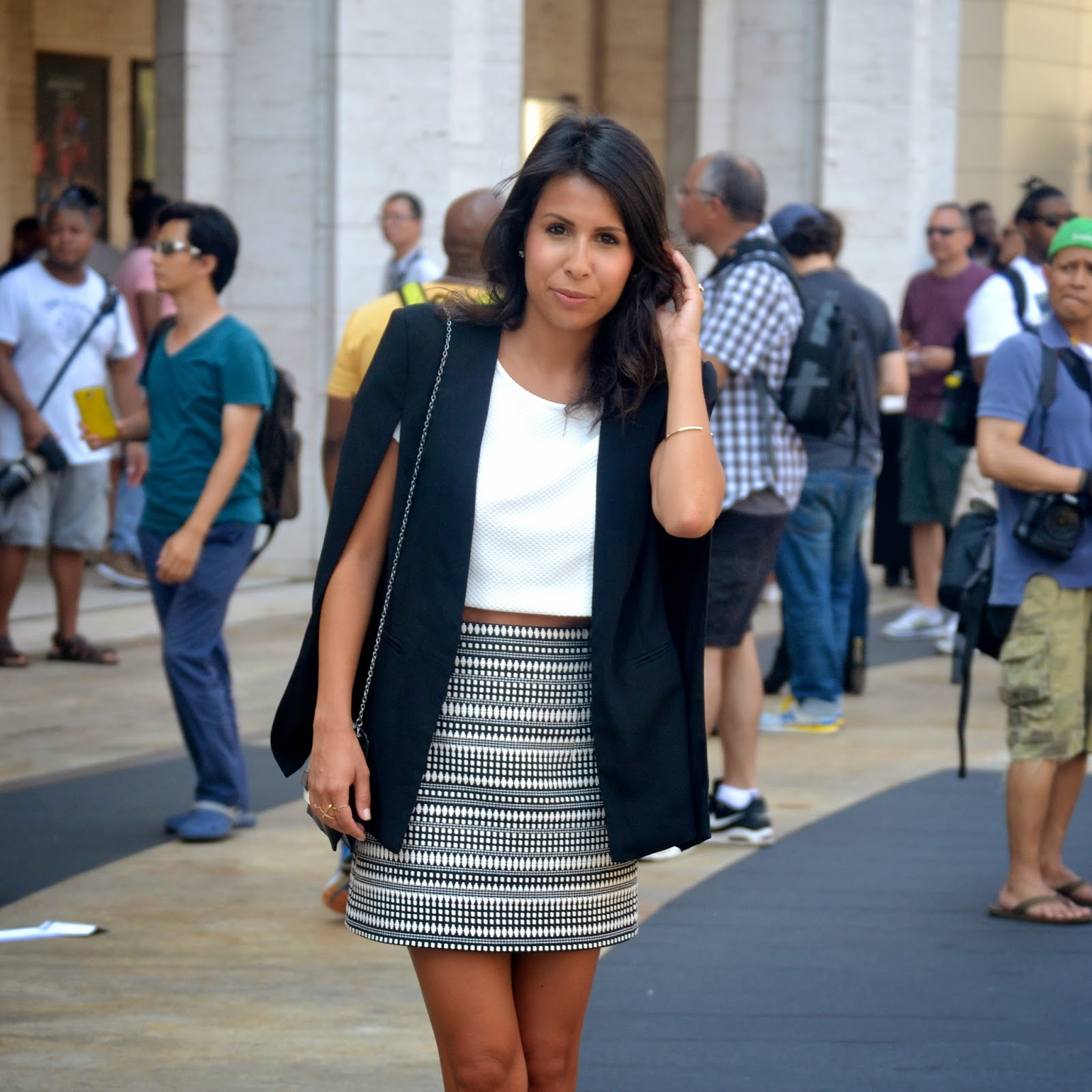 nyfw, fashion, lincoln center, zara fall, capes, how to style
