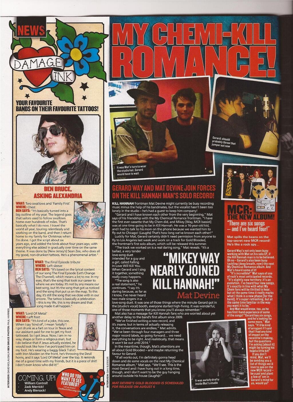 Mcrmy Hollywood Los Angeles Socal A My Chemical Romance