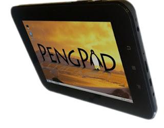 Tablet Dual Booting PengPod700 android dan linux terbaru murah