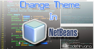 How to Change or Use a Theme In NetBeans