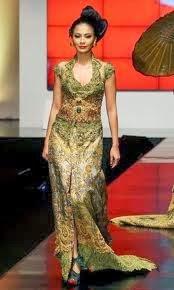 Foto Model Baju Kebaya Lengan Pendek Terbaru