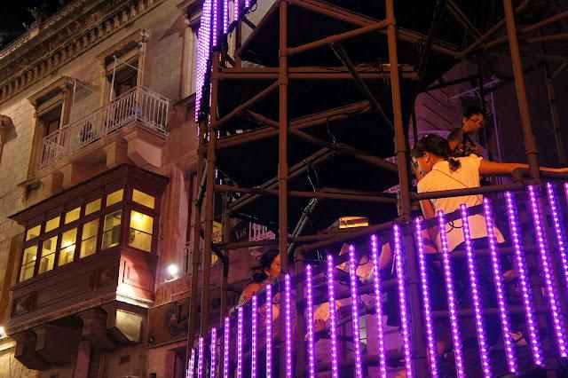 notte bianca 2012 DNA staircase valletta malta