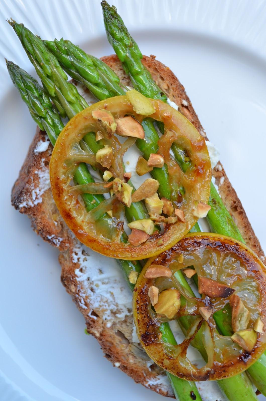 ... asparagus tartines recipe avocado asparagus tartine avocado asparagus