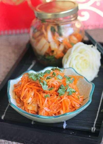White Radish Kimchi - Kim Chi Củ Cải