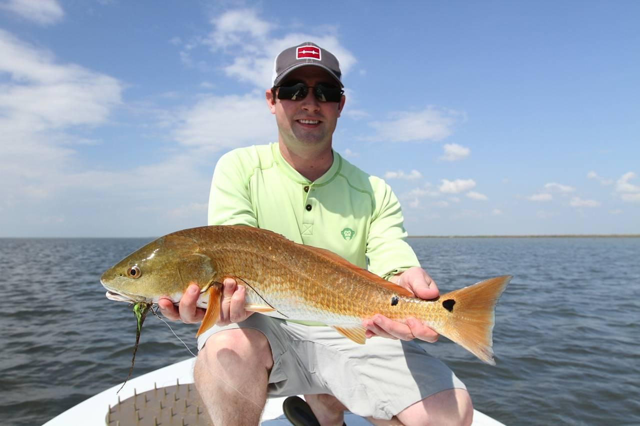 Country pleasures fly fishing redfish photos for Fly fishing redfish