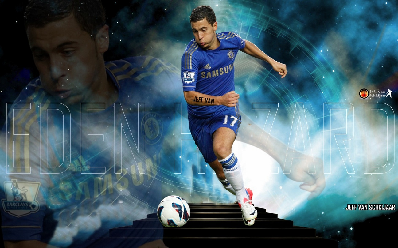 Wallpaper Edin Hazard Chelsea Wallpaper Hd