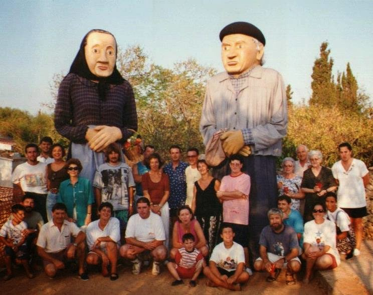 Història de la Colla de Geganters de Llucmaçanes