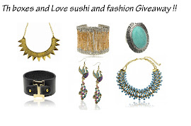 SORTEO EN LOVE SUSHI AND FASHION GIVEAWAY