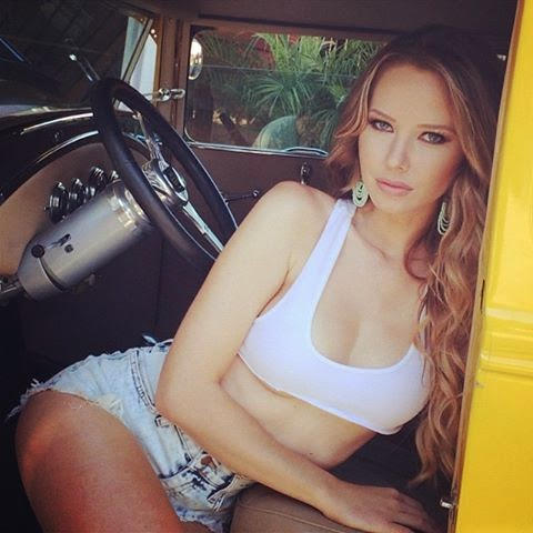 Photo albums and collections of supermodel Tiffany Toth