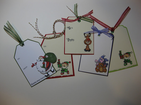 Quick and Easy Gift Tags with Copic Markers