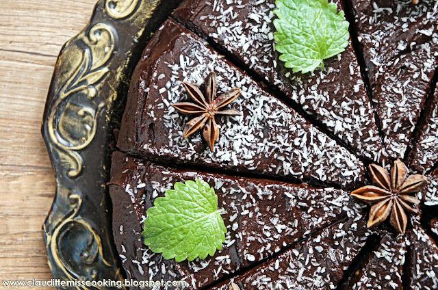 Dietetyczne brownie z czerwonej fasoli