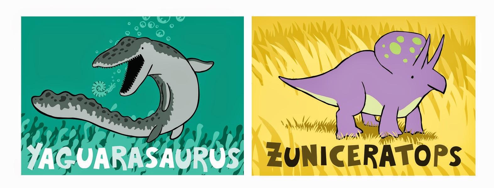 Yaguarasaurus Zuniceratops
