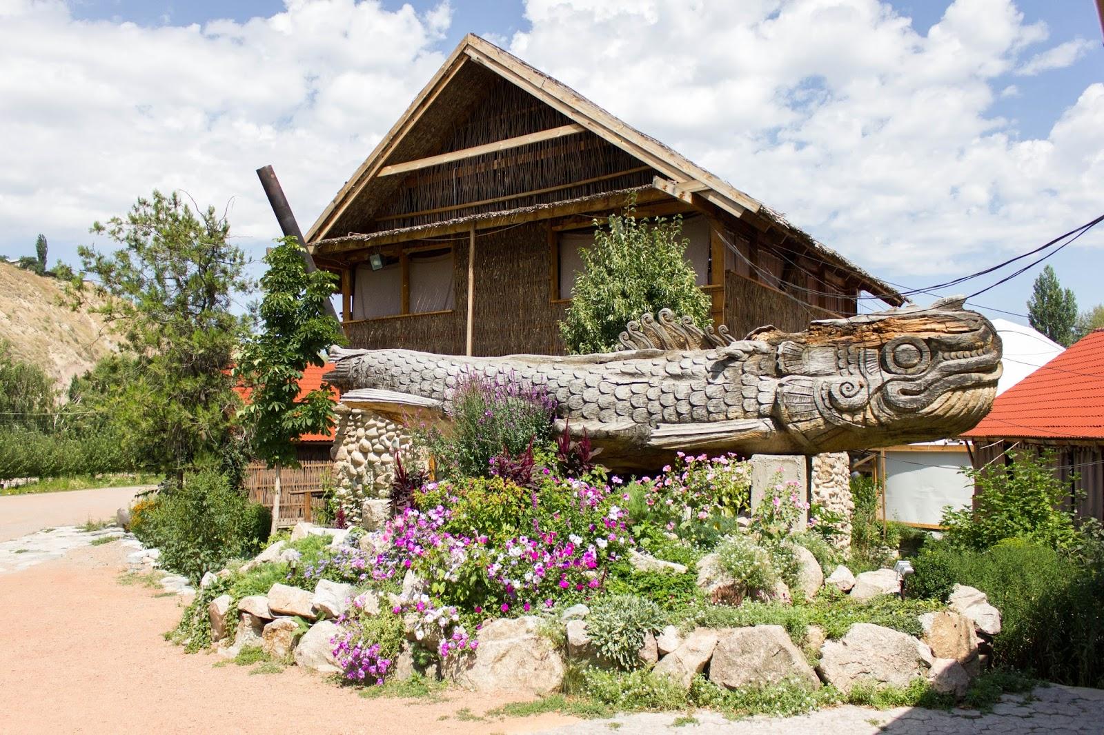 Бишкек, Деревянный дракон, Супара